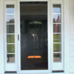 Screen door installation